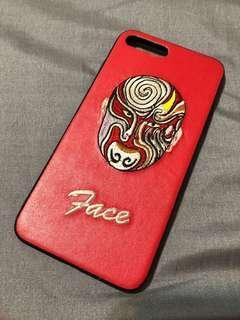 iPhone 7plus 手機殼 刺繡人臉