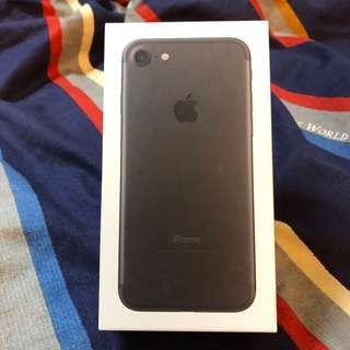 iPhone 7 消光黑(128G)