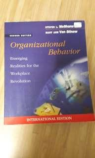 Organizational Behaviour (MxShabe, Von Glinow)