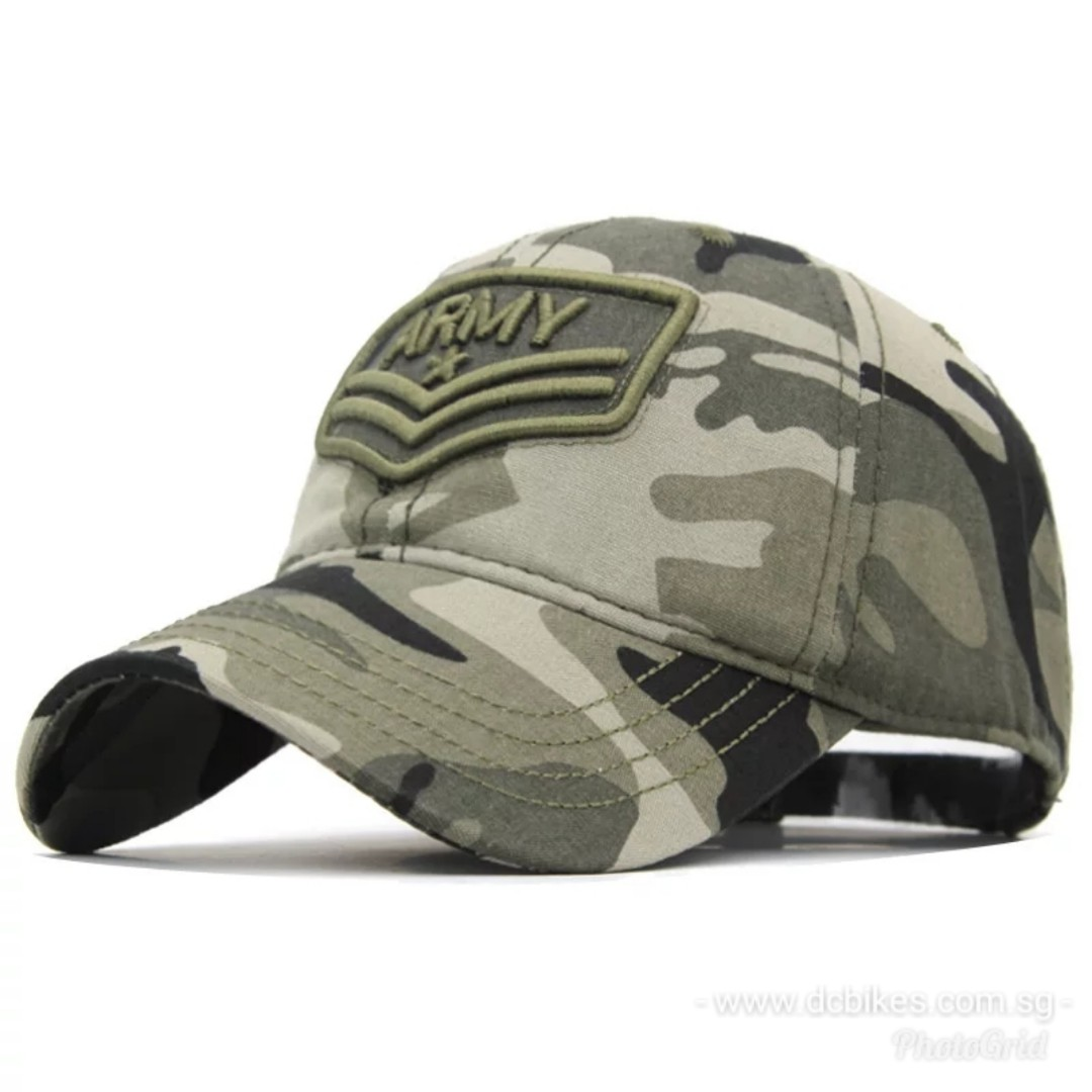 🆕! US ARMY Camouflage Tactical Trucker Baseball Cap Hat  OK 348374f62bae