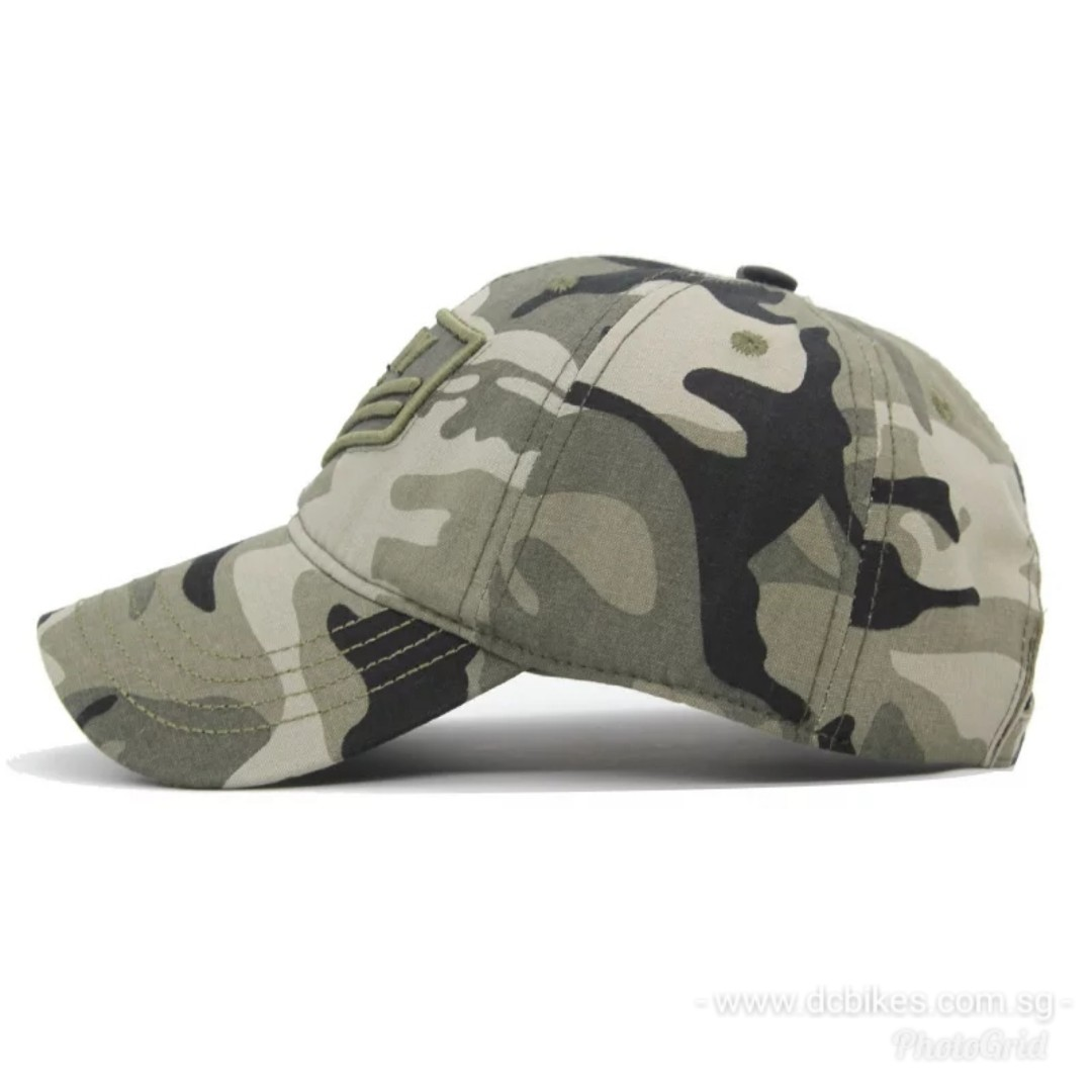 abcbe679015 🆕! US ARMY Camouflage Tactical Trucker Baseball Cap Hat  OK