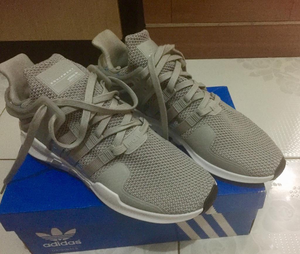 Adidas EQT adv-grey size 44.5 Original 100%