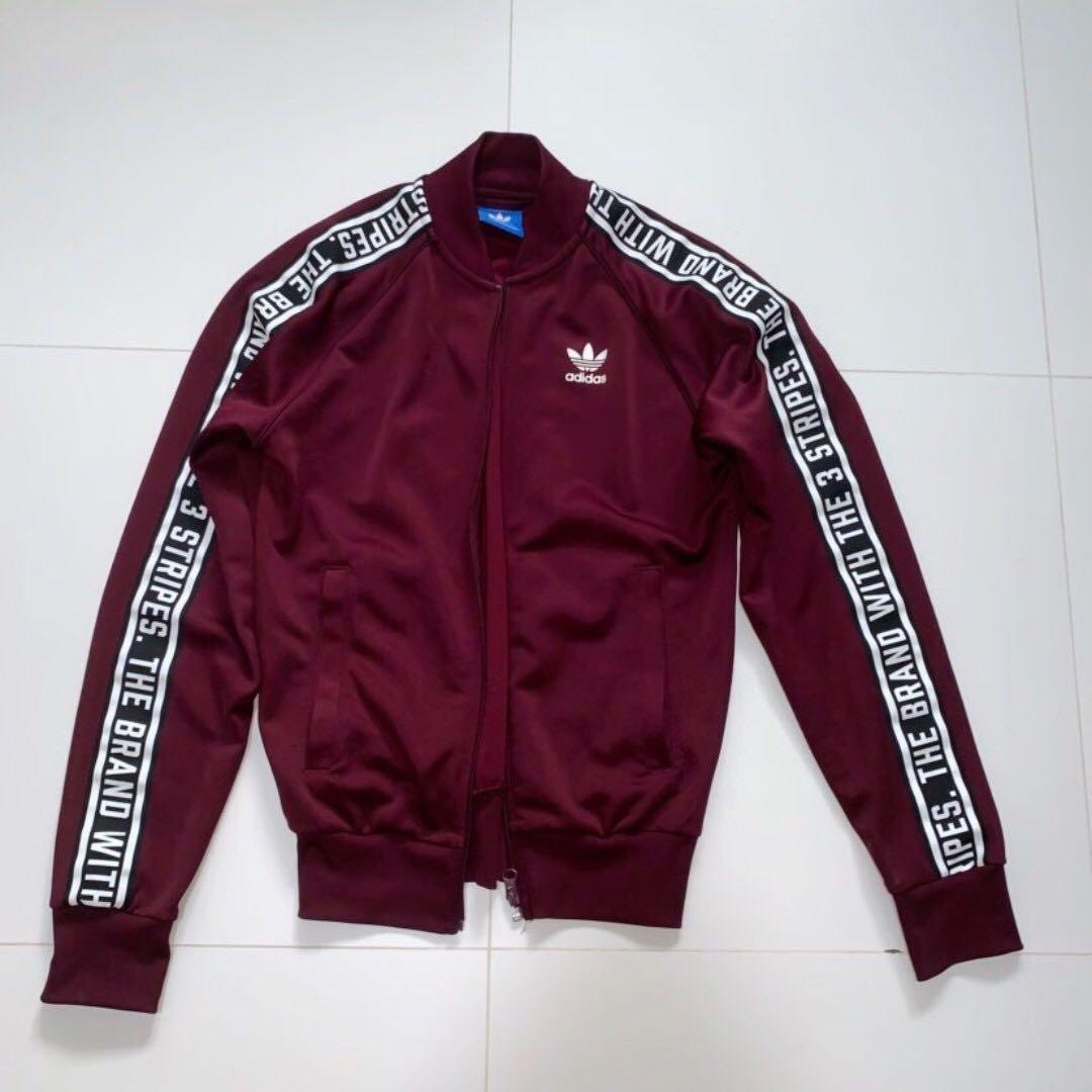 282eb2071b35 Adidas Originals Maroon Jacket