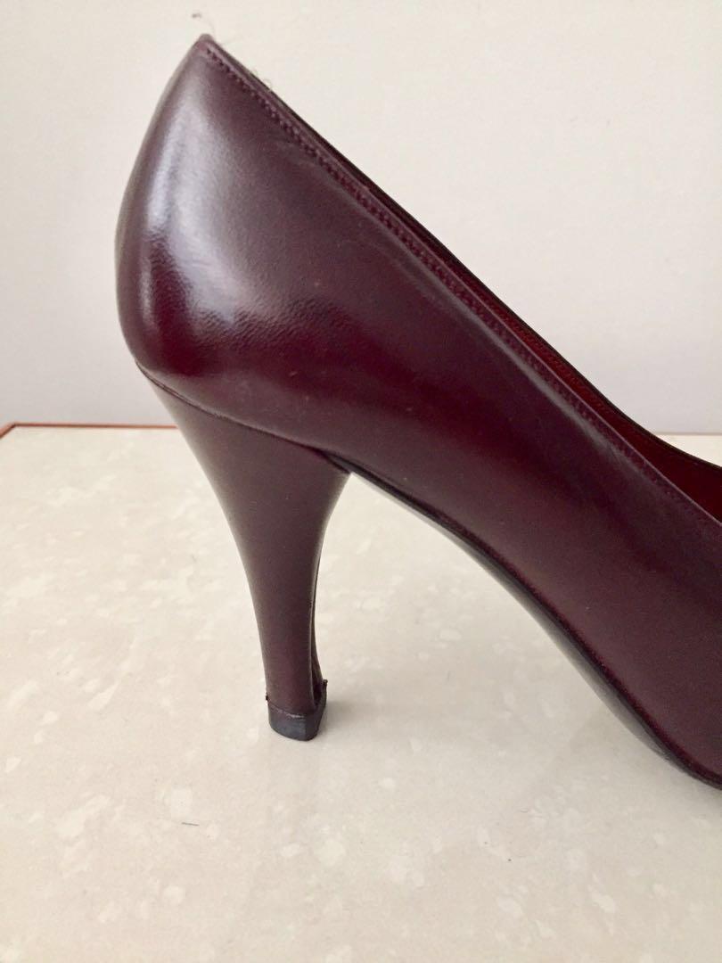 Authentic Saint Laurent heel shoes