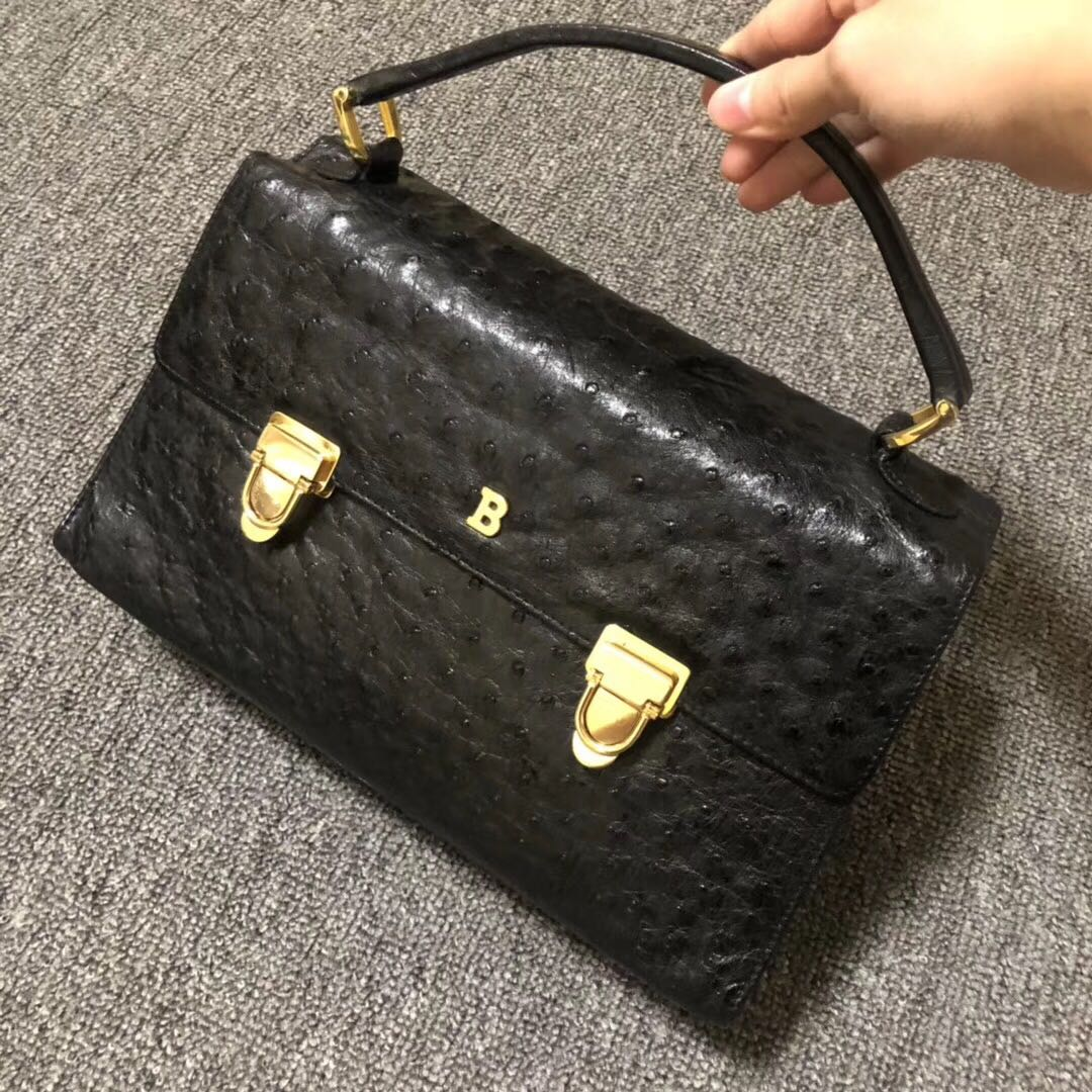 b6948f492680 Authentic vintage Bally handbag