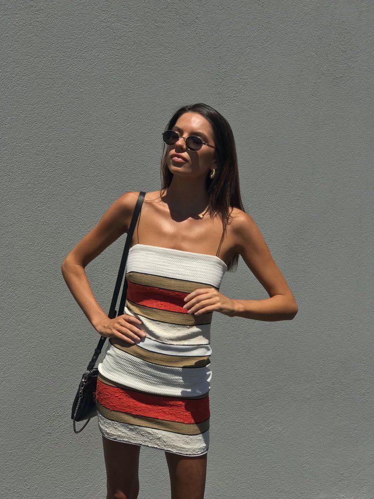 def065c0fe940 Bec & Bridge Goldie Mini Dress for hire, Women's Fashion, Clothes on ...