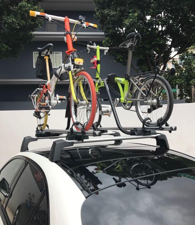 Bicycle rack for W205 Mercedes C class