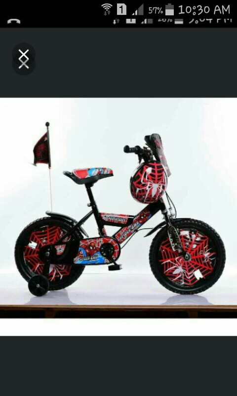 Bicycle Kids Bicycle Spiderman Bicycle Ready Stock Babies Kids