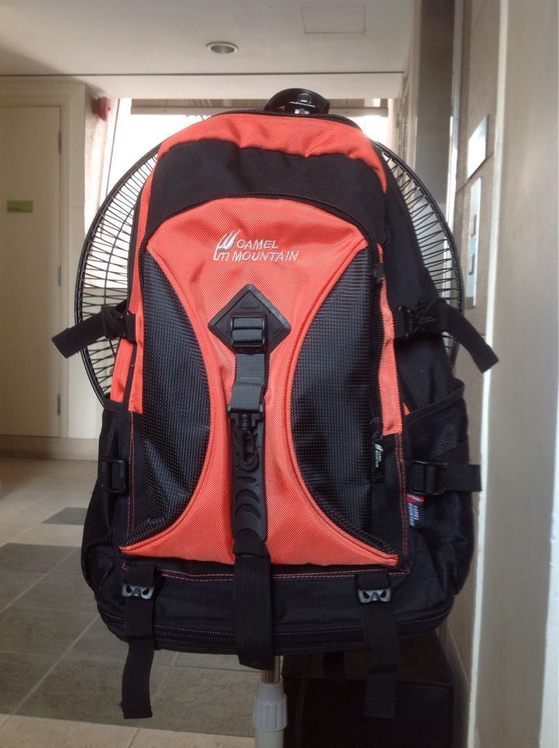 0aedfb720d Camel Mountain Backpack, Men's Fashion, Bags & Wallets, Backpacks on  Carousell