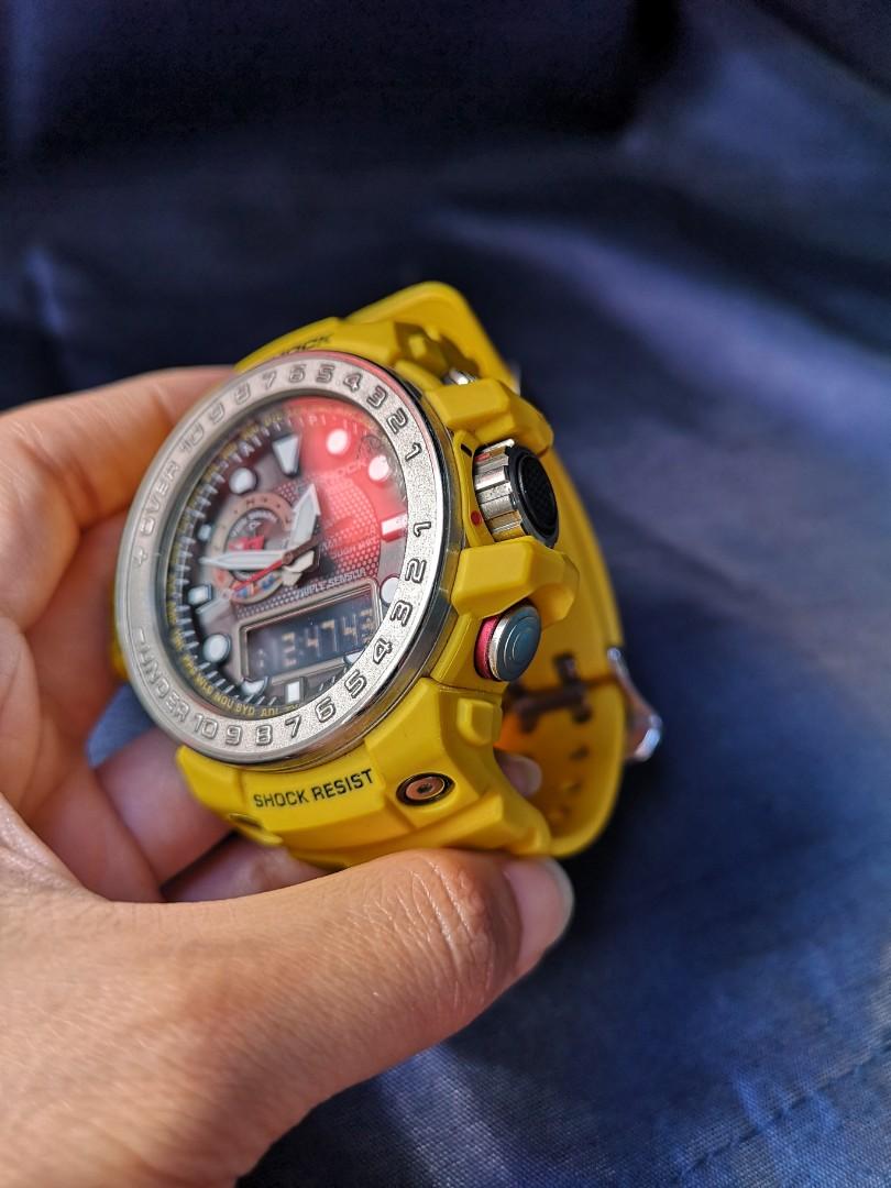 40ba40ee2b9 Casio G-Shock Gulfmaster Ocean Solar Rare Color