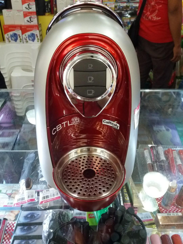 CBTL espresso machine Kaldi S04