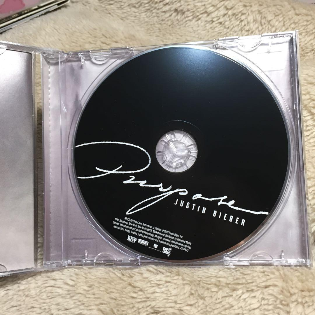 CD Album Purpose Justin Bieber