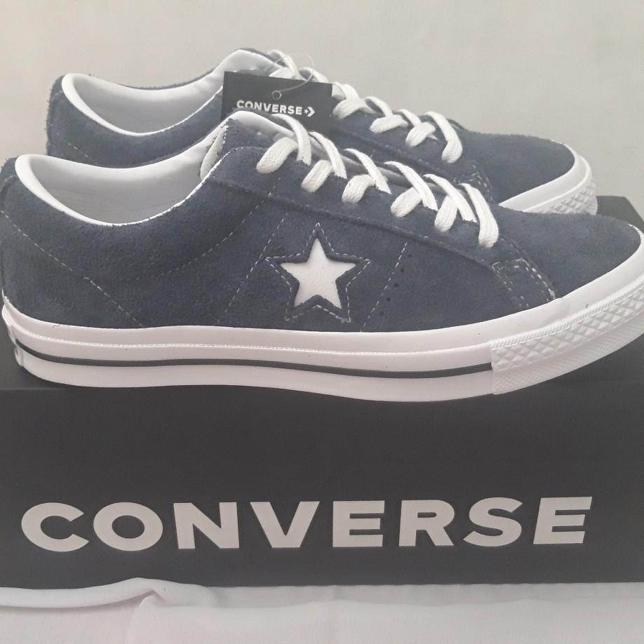 Converse One Star Suede Navy Original (KONDISI BARU) 126068272