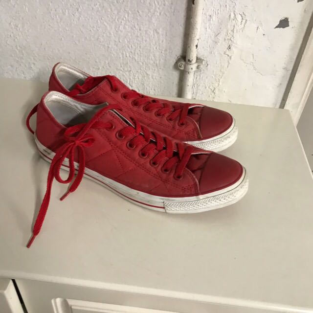 Converse red ctas chuck Taylor 1970 low all star one star us 9 sale vans  鞋平bag 4f01669bd07c