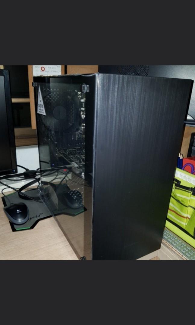 Custom pc ryzen 2 with gtx 1060  Upgradeable to gtx 1070 1080 ti rtx 2070  2080 ti