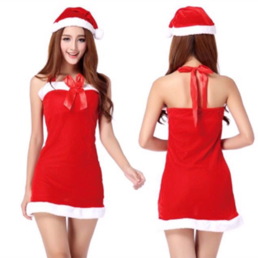 e287361755f12 Free Shipping !!🎅#01 Christmas Dress Tube Dress Costume Cosplay Party