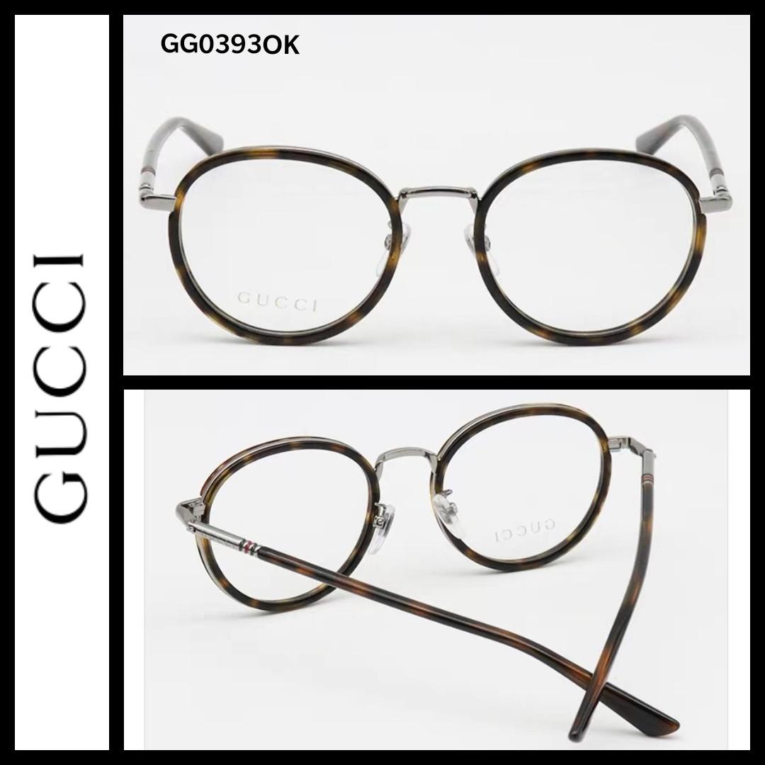 65c1a05847a Gucci GG0393O round vintage glasses