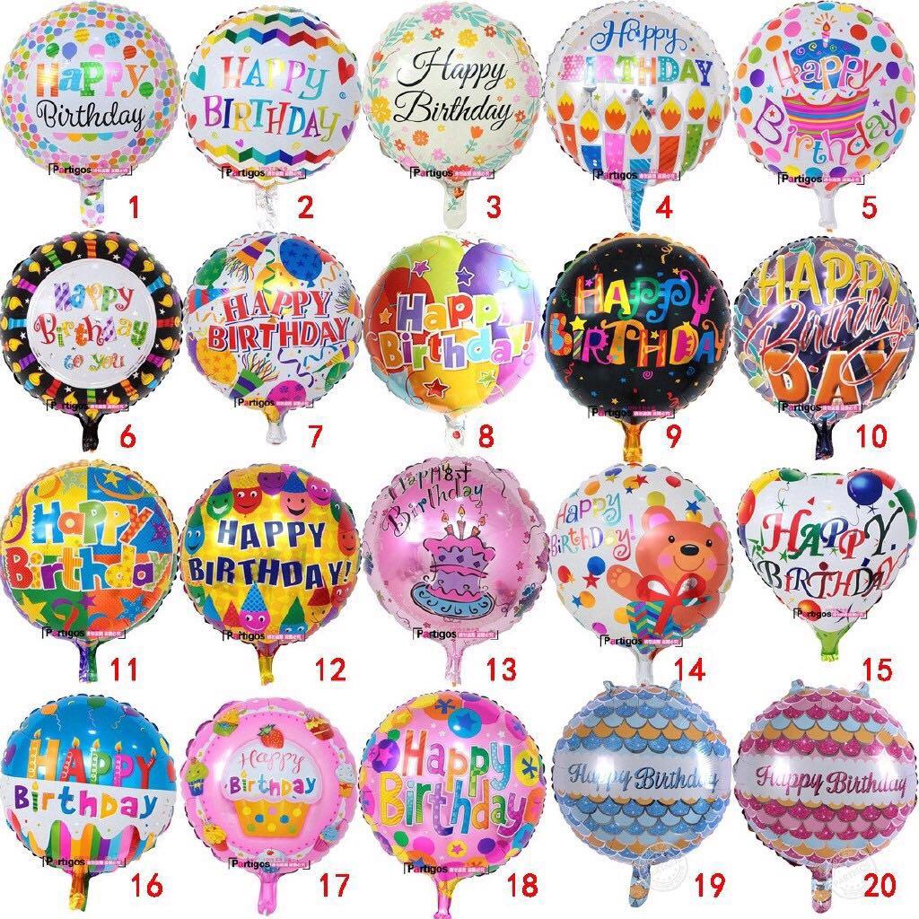Happy Birthday Balloon Design Craft Others On Carousell