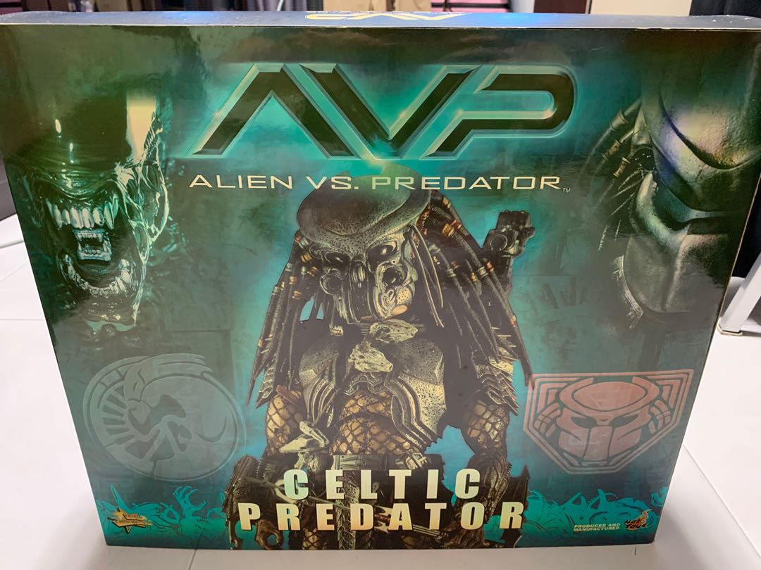 9e9eccb0fd9c Hot Toys Alien Vs Predator Celtic Predator, Toys & Games, Bricks ...