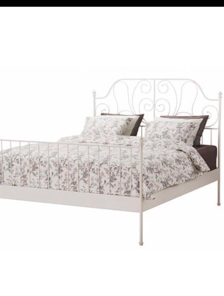 """IKEA BED FRAME """" DOUBLE SIZE """""""
