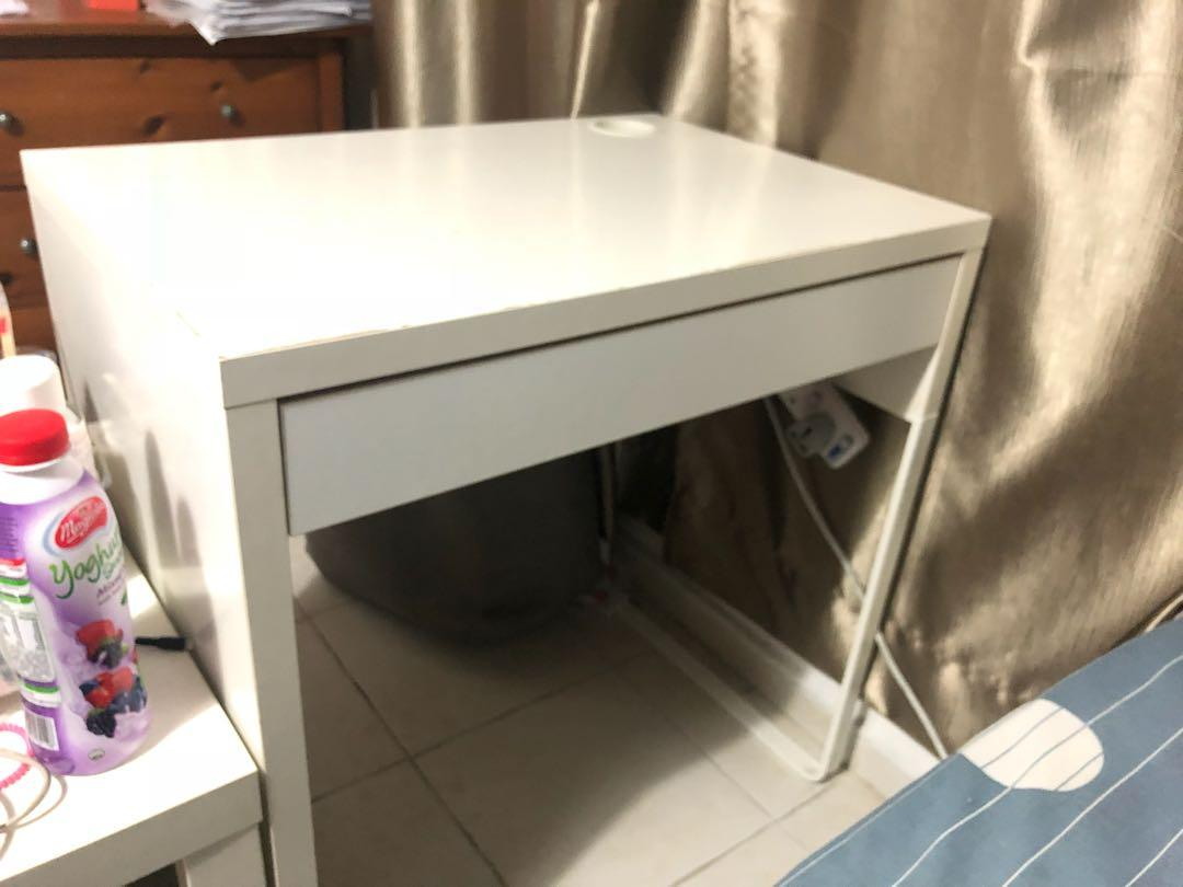 Ikea Small Table Study Table Furniture Tables Chairs On Carousell