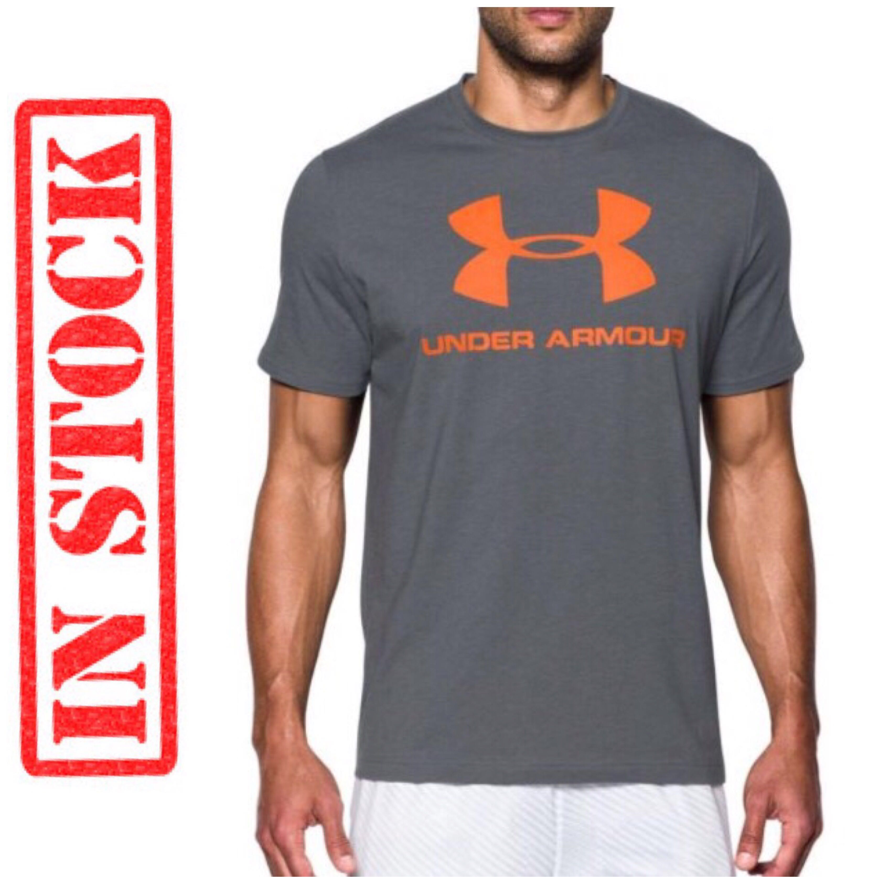 650c01ba IN STOCK Under Armour Charged Cotton Sportstyle Logo T-Shirt, Men's ...