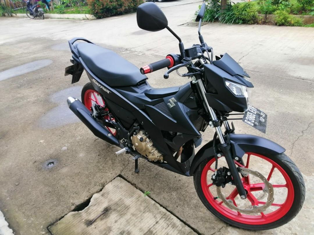 Jual cepat motor second Suzuki Satria FU 150 cc 2016