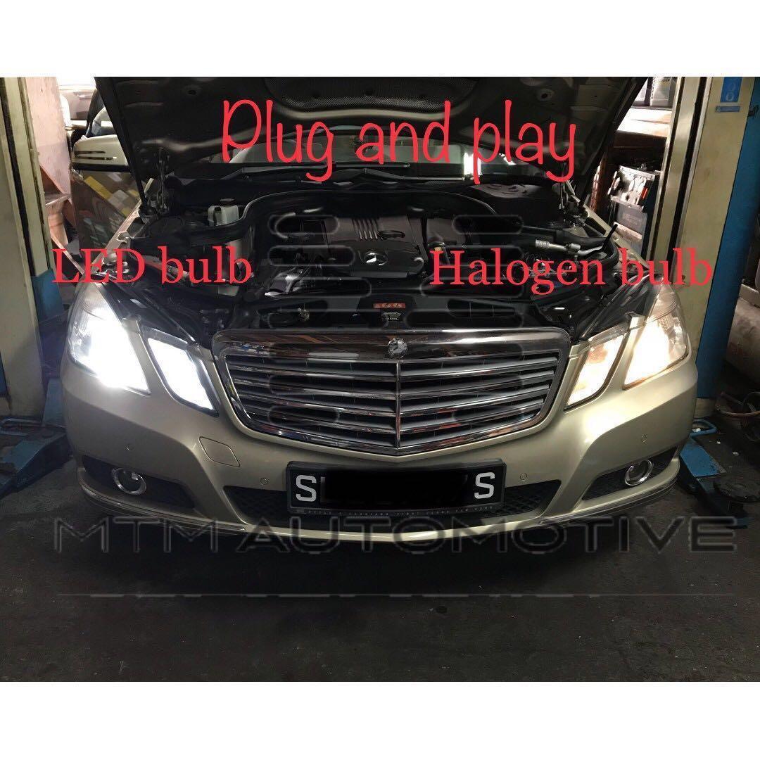 LED headlight for C-class/E-class W204 W212 (Error Free
