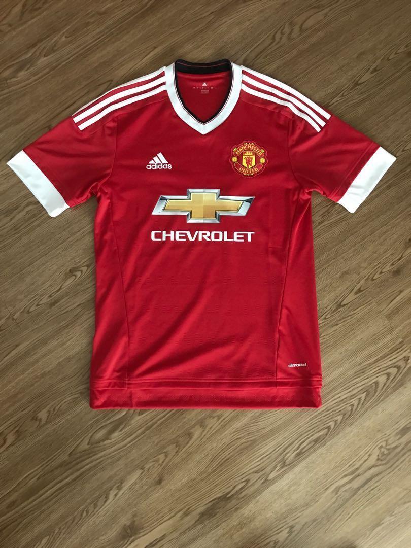 f9d89c5c4c9 Man Utd Adidas Shirt 2015 16