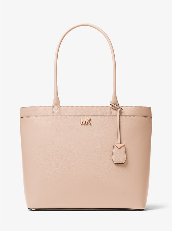 1b017fb88a9e Michael Kors Maddie Large Crossgrain Leather Tote