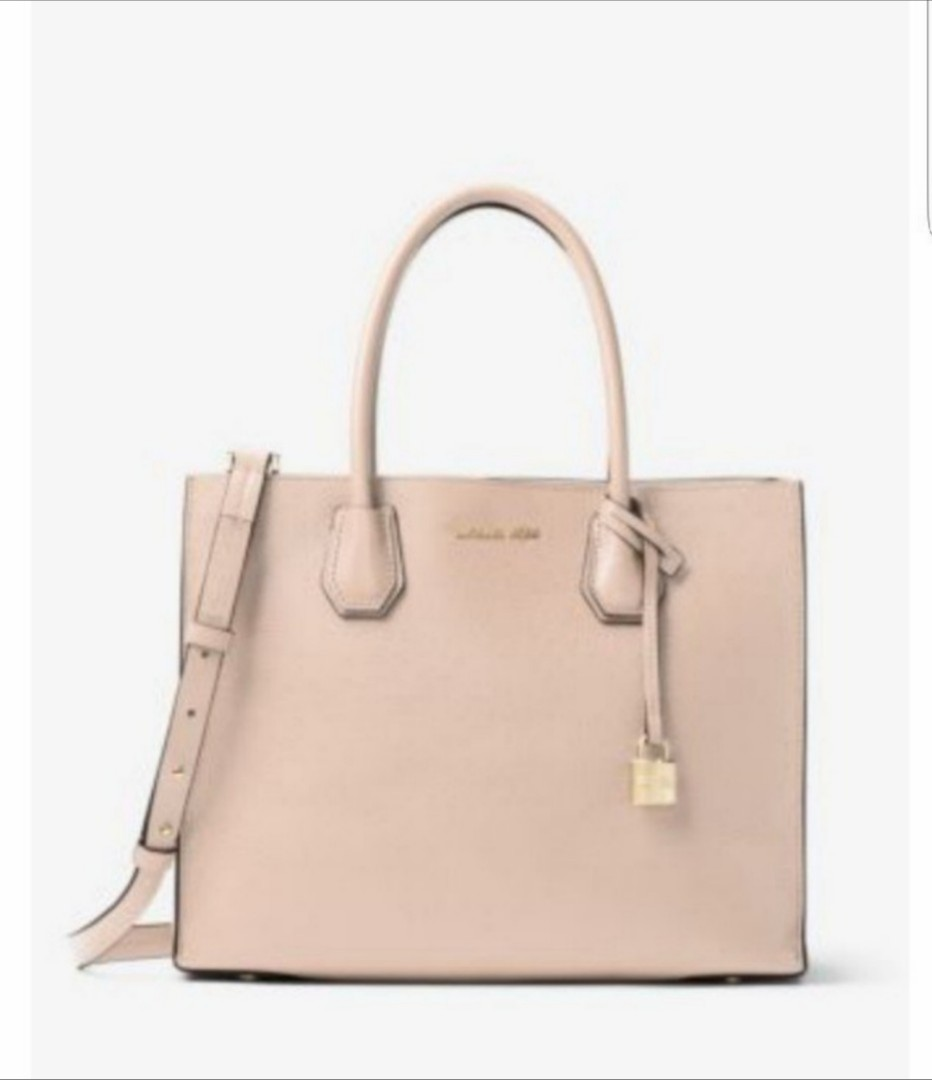 1d122ae73457 Michael Kors Mercer large leather tote, Luxury, Bags & Wallets ...