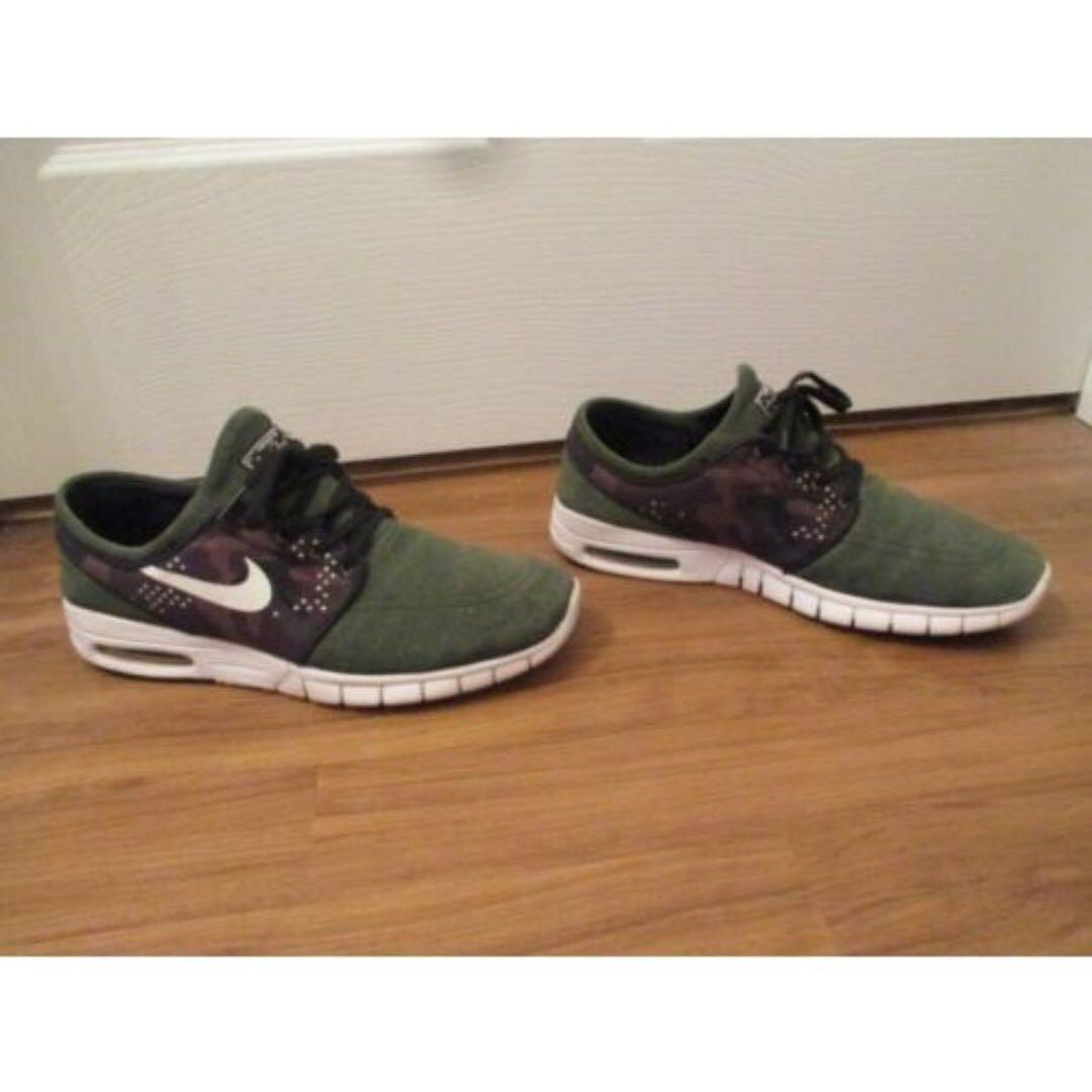 amazing selection picked up outlet boutique Nike SB Stefan Janoski Max Suede (Sequoia Camo), Men's ...