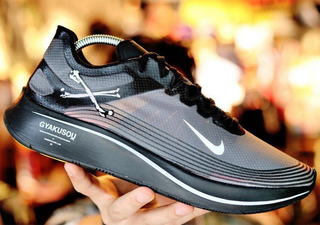 ac68dcb55b72 Nike Zoom Fly Gyakusou Black - UK 9   US 10