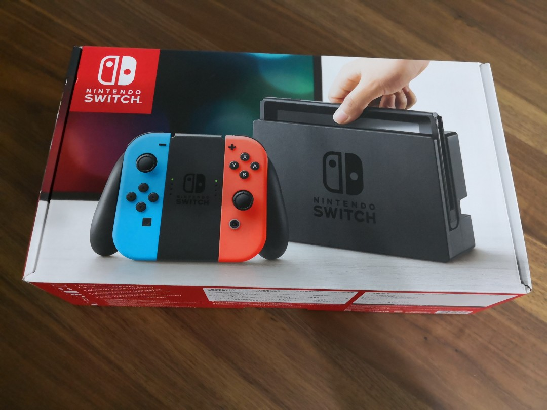 nintendo switch serial number information