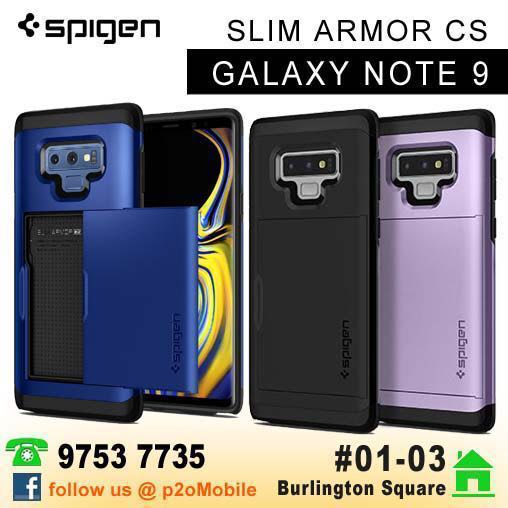 low priced 8adc7 3e279 [Note 9] Spigen Slim Armor CS for Samsung Galaxy Note 9