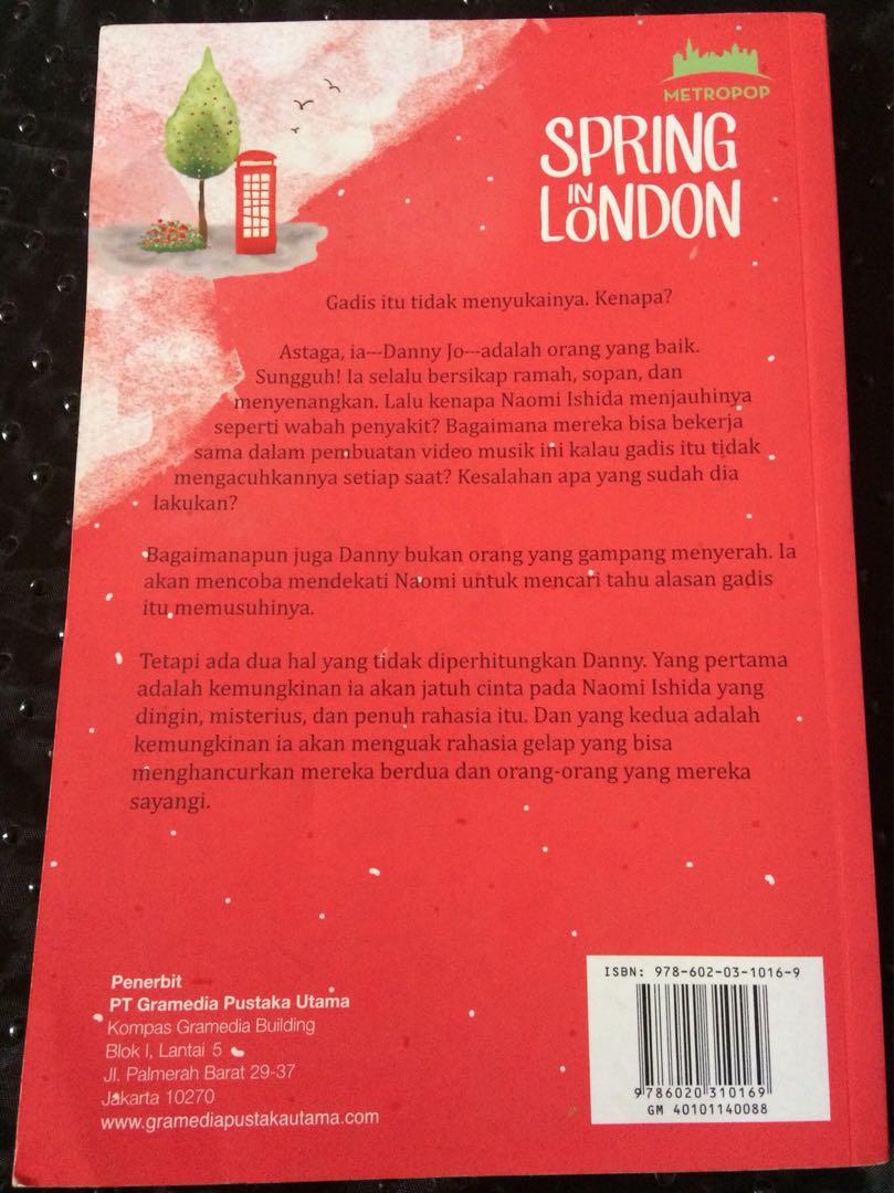 Novel Spring in London