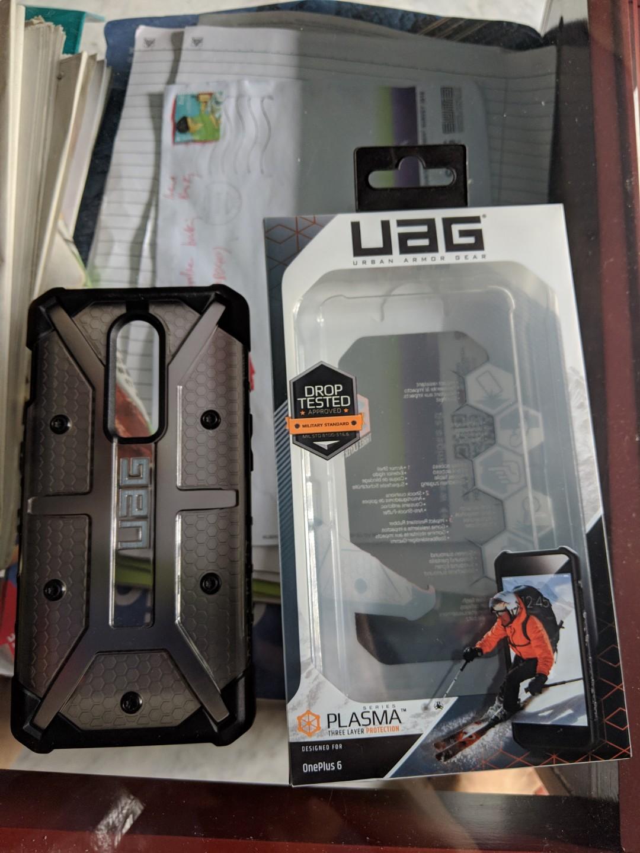 new concept b19e5 869bd OnePlus 6 UAG Case