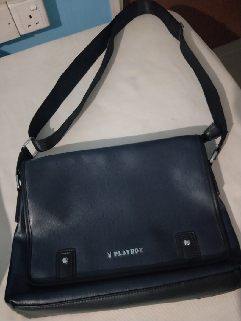 Playboy sling bag, Men s Fashion, Bags   Wallets, Sling Bags on Carousell e3b42fc8ee