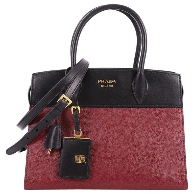 b17c9649a Prada Esplanade Handbag Saffiano Leather, Women's Fashion, Bags ...
