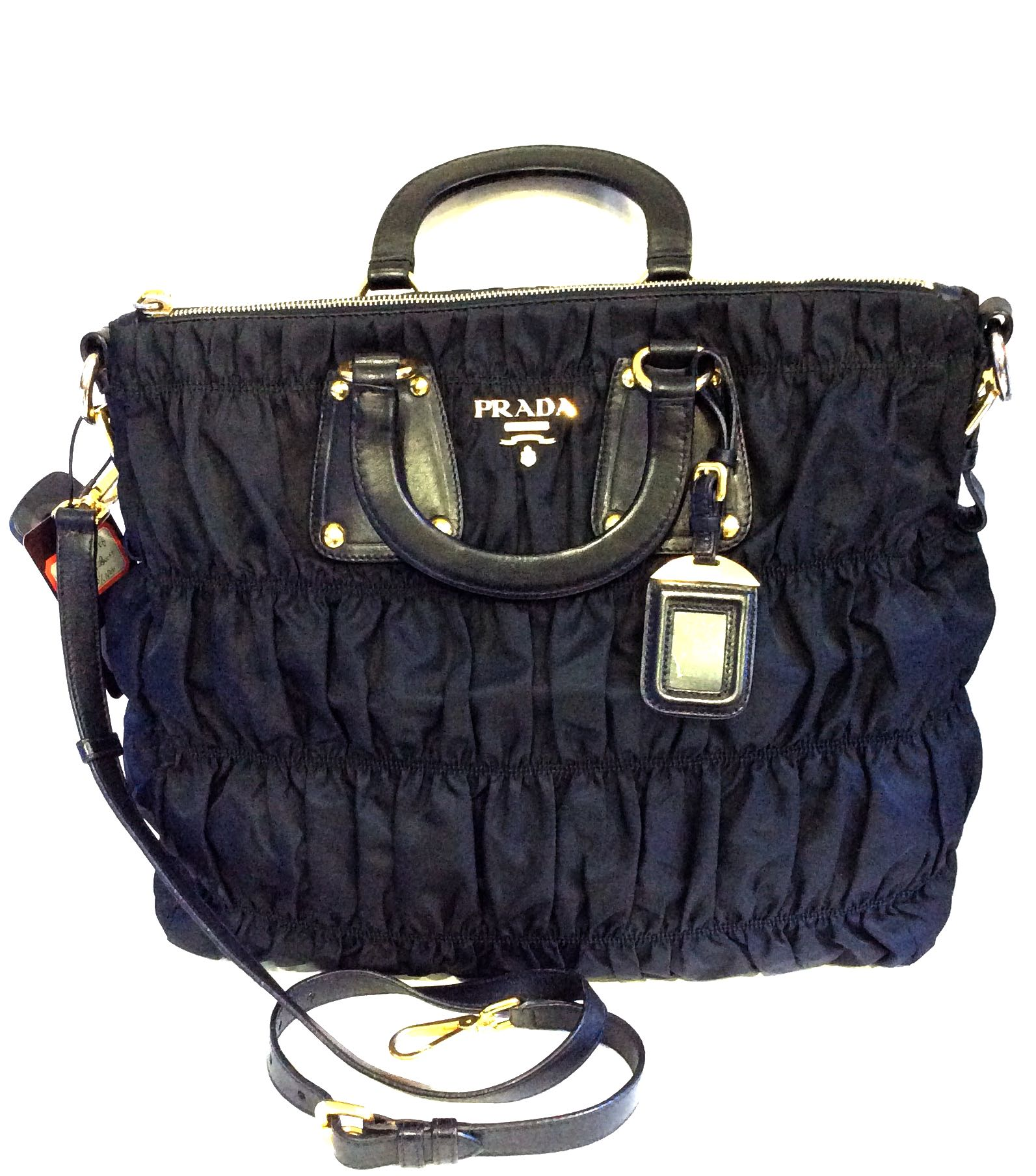 8c3bcf466a8e Preloved Prada Nylon Shoulder Bag