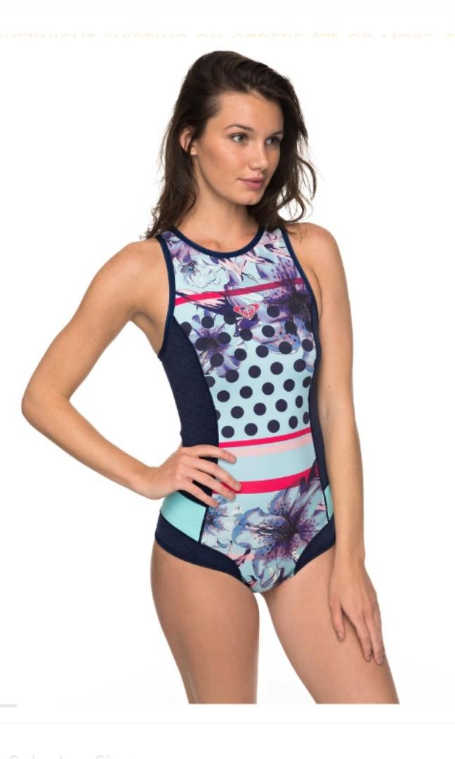 28a7fe64ba Roxy Springsuit  1mm wetsuit   one-piece swim size 6