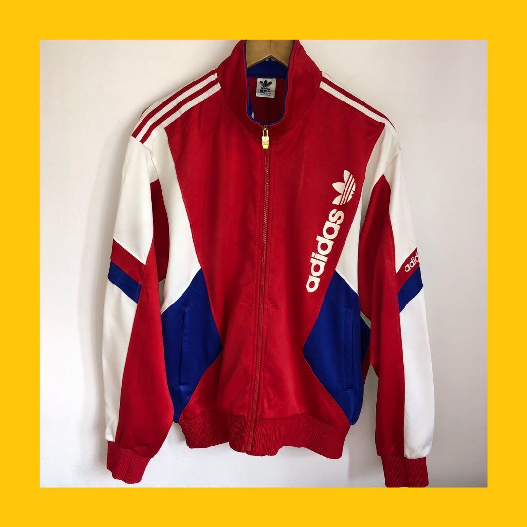 bf0e32cd554e 🎄SALE vintage adidas colourblock track jacket