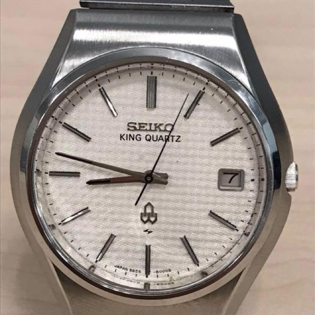 Seiko Vintage 1977 King Quartz 5855-8000