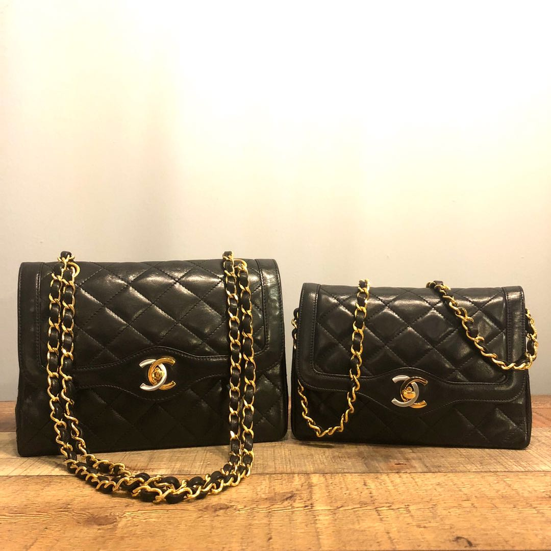 f14634b35a Size Comparison of Classic Limited Paris Ed Series Chanel Bags ...