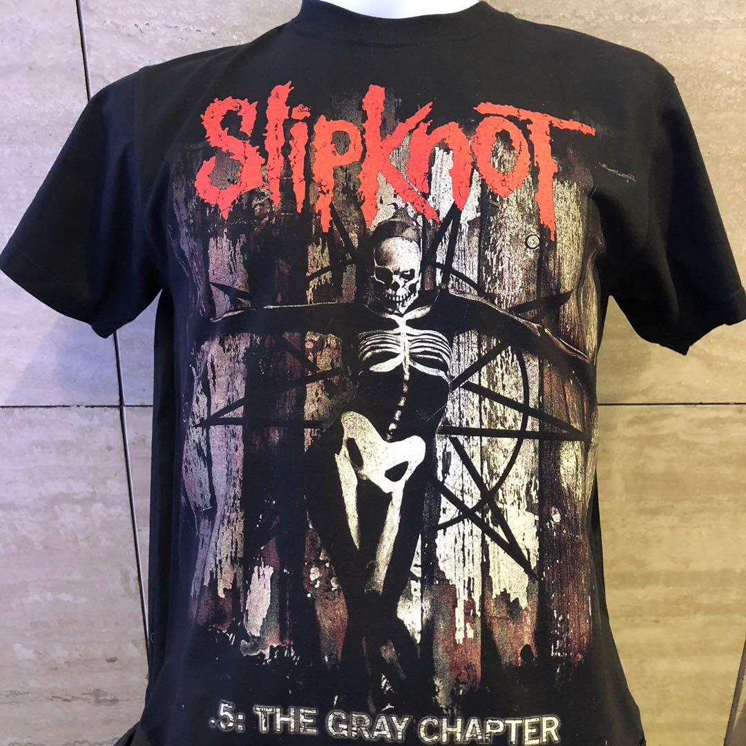 6c3b71b7da7d Slipknot gray chapter rock t shirt