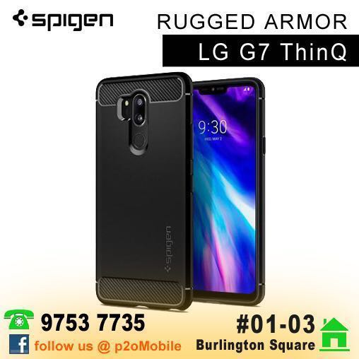 separation shoes 18a08 fa9cd Spigen Rugged Armor for LG G7 ThinQ