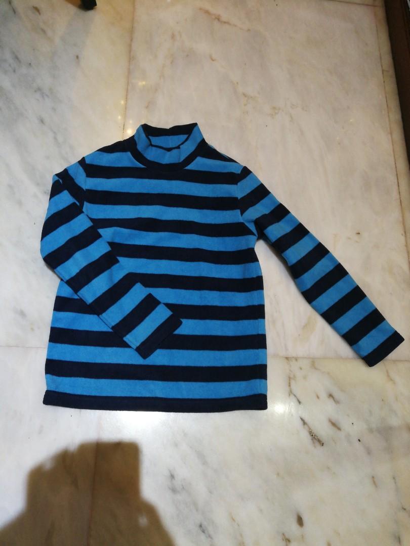 8931ed8f9 Uniqlo Winter Fleece top (unisex) . 7-10yo, Babies & Kids, Boys ...
