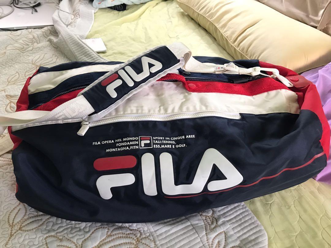 c35d4b6d1465 Vintage FILA Duffel Bag