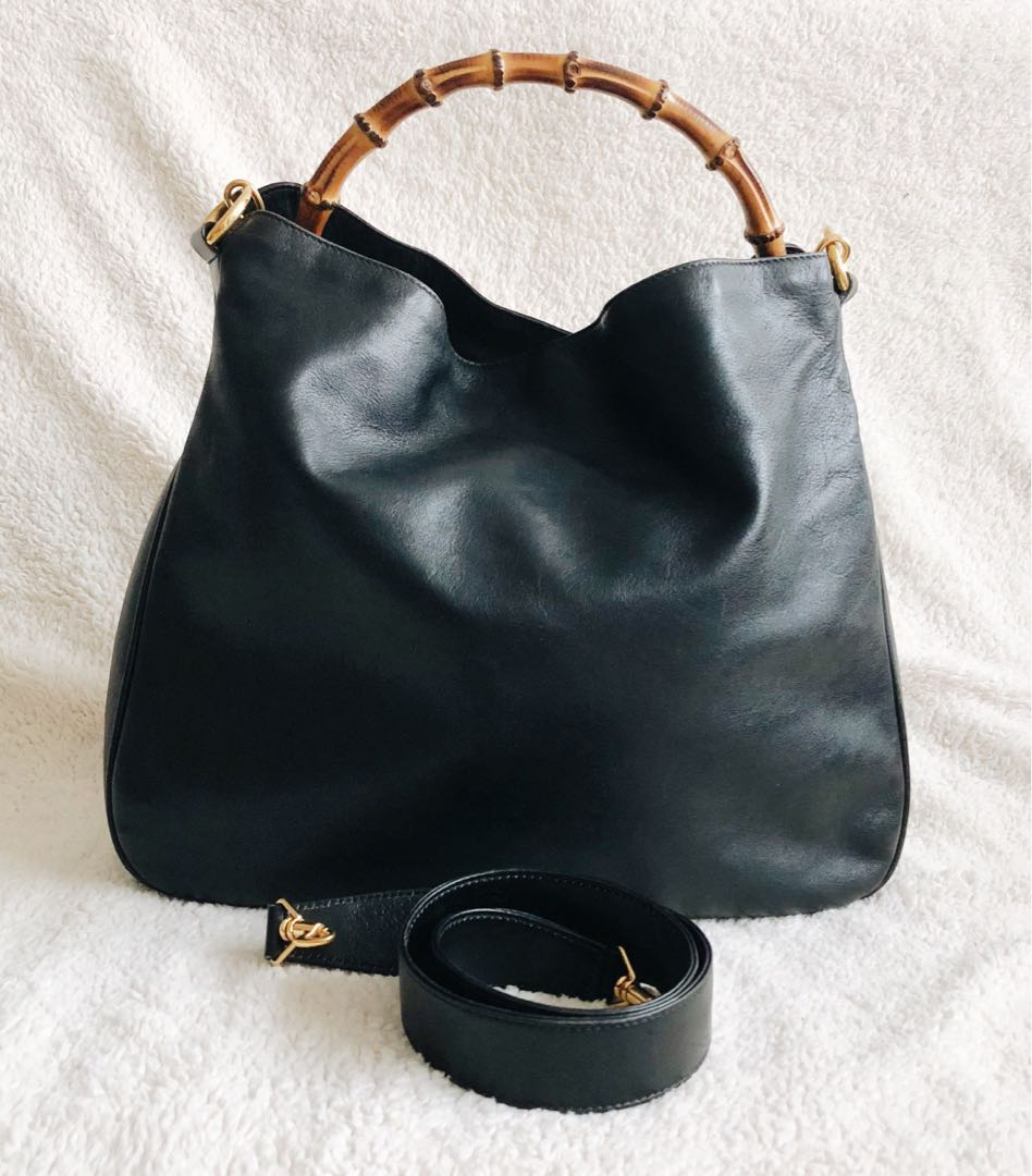 04b393cad90 Vintage Gucci Hobo with Bamboo Handle