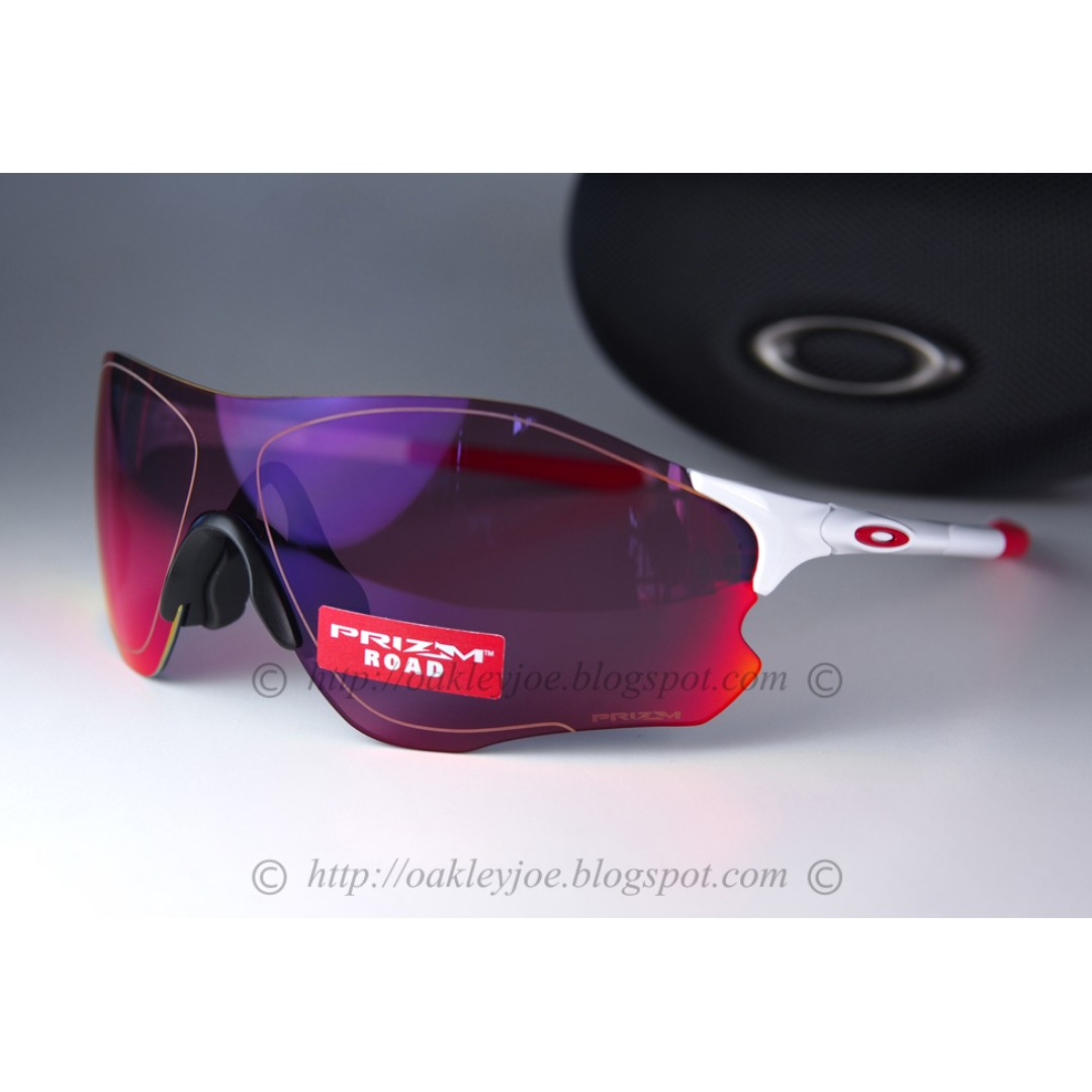 ca57296f848 BNIB Oakley EV Zero Path matte white + road prizm lens OO9308-06 sunglass  shades